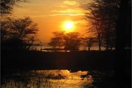 Coucher de soleil Nakuru Kenya