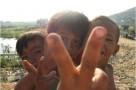 Enfants sourire Cambodge