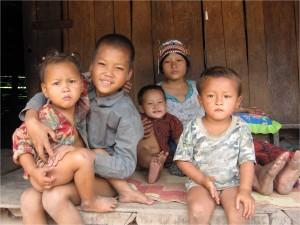 Enfants sourire Laos 1
