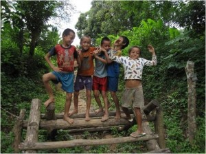 Enfants sourire Laos 3