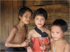Enfants sourire Laos 4