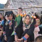Femmes tribu akha phongsaly laos