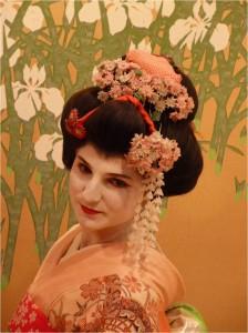 Je suis une Geisha au Japon