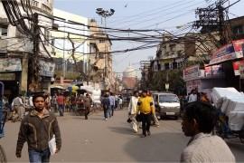 Dans les bazars d'Old Delhi