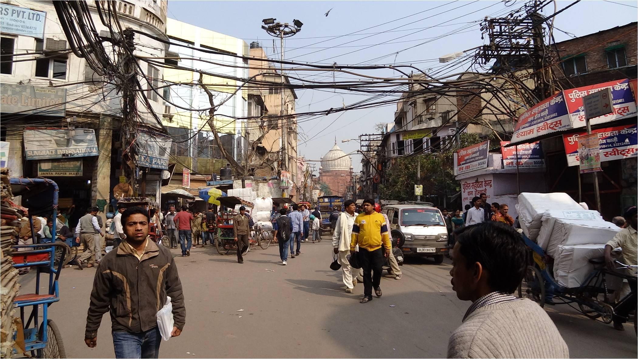 Premières impressions de Delhi…