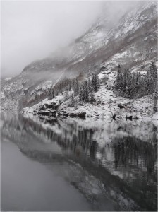 Naeroyfjord, Norvège, novembre 2012