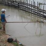 Pêcheur Thakhek Laos