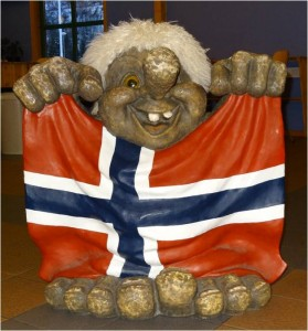 Troll Norvège