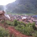 Village akha Luang Nam Tha Laos