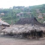 Village akha Luang Nam Tha Laos 2