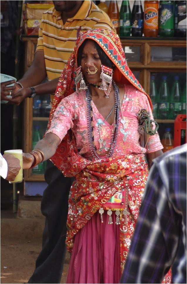 Inde Bijapur femme