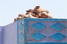 Inde Bundi maison bleue