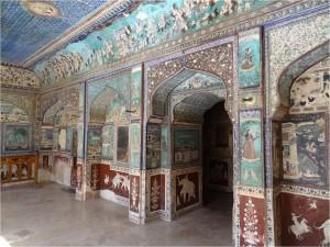 Inde Bundi palais peinture