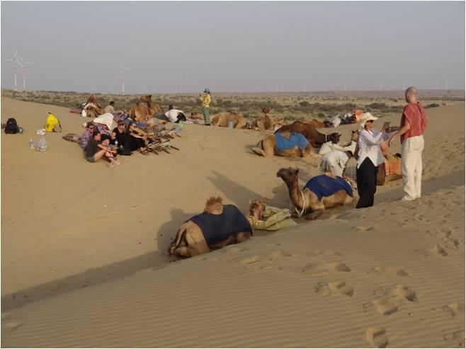 Inde Jaisalmer où est Elmer 1