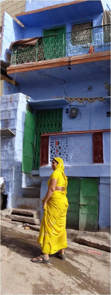 Inde Jodhpur femme