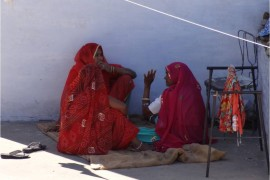 Inde Pushkar femmes