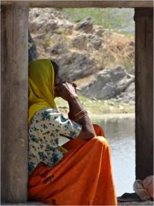 Inde Udaipur femme