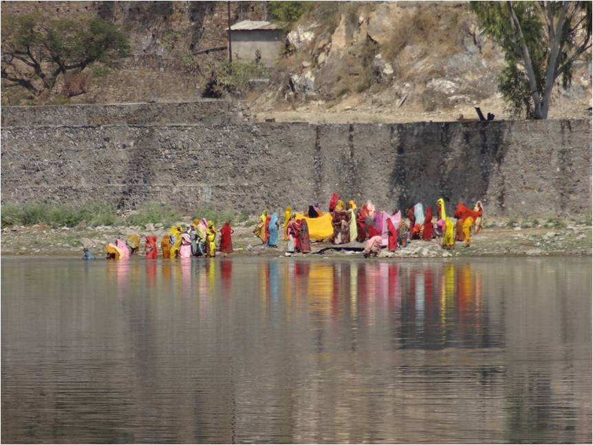 Inde Udaipur lac 1