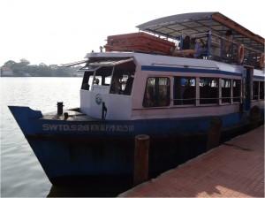 Inde Backwaters bateau touristique