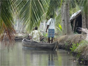 Inde Backwaters canoë