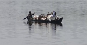 Inde Backwaters canoë houseboat ou bateau touristique3