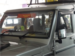 Inde Darjeeling jeep5