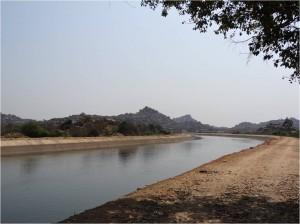 Inde Hampi rivière2