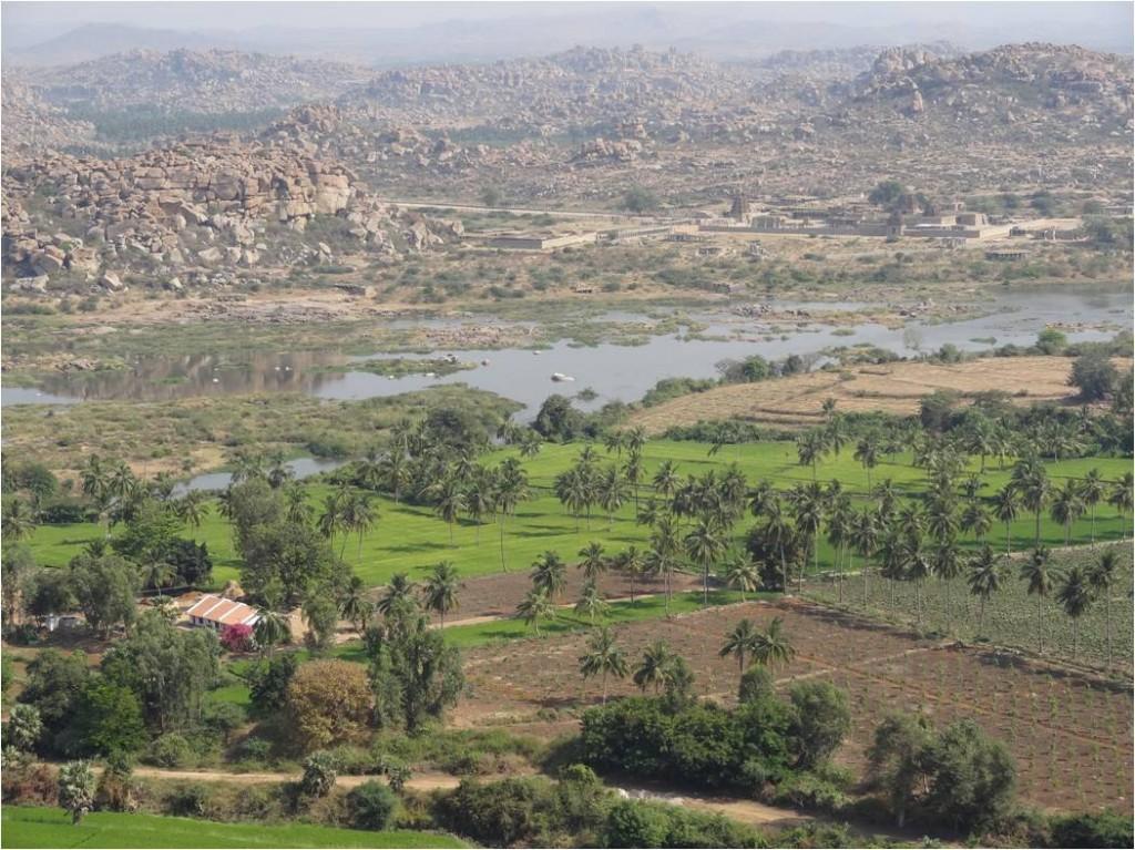 Inde Hampi sec végétation