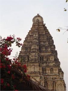 Inde Hampi temple Virupkasha