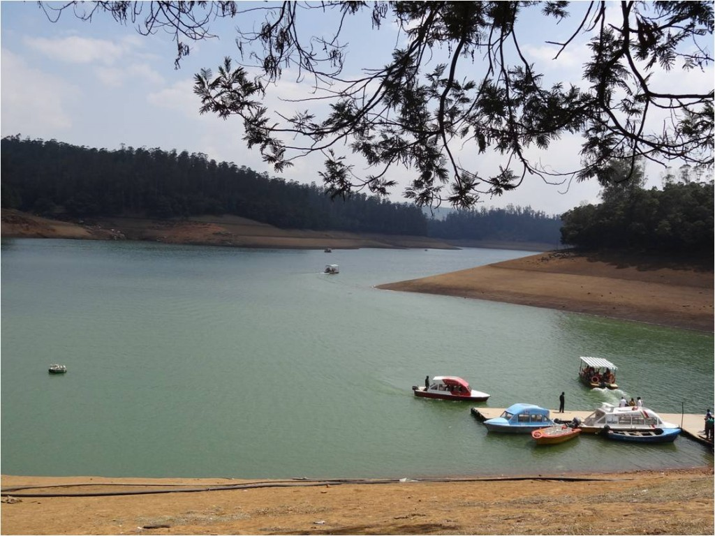 Inde Ooty lac