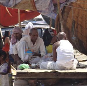 Inde Varanasi prière bis