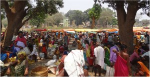 Inde Koraput Baipariguda market 1