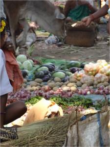 Inde Koraput Baipariguda market 2