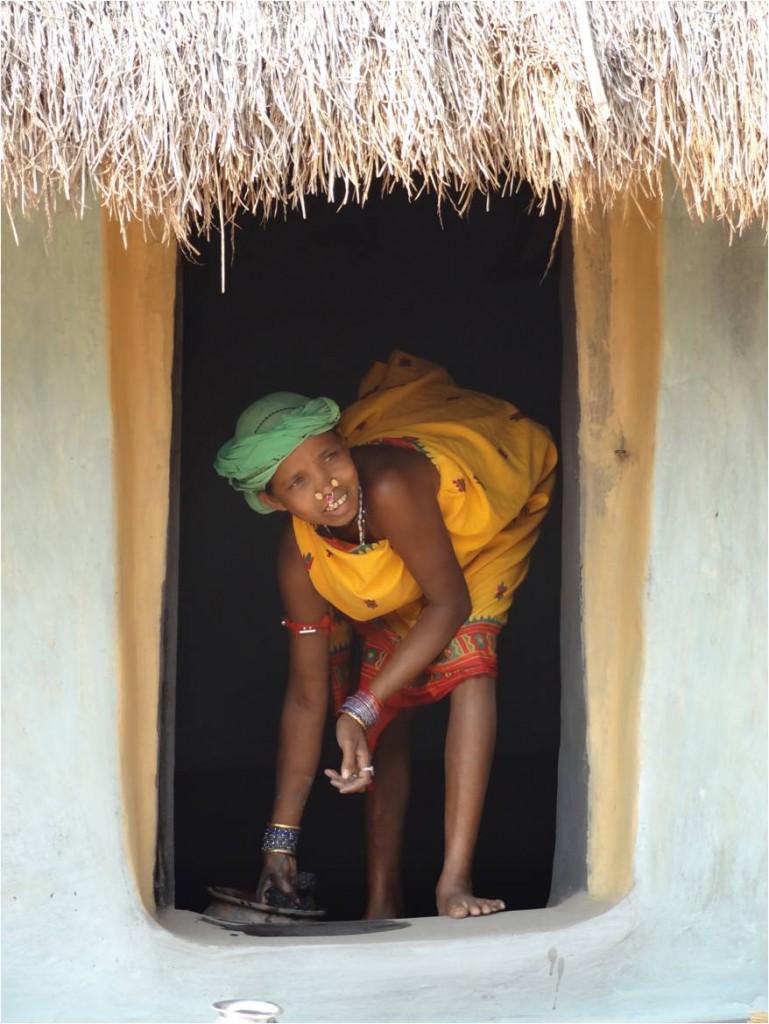 Inde Koraput Chandanpur village femme 1