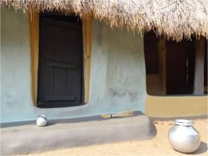 Inde Koraput Chandanpur village maison 2