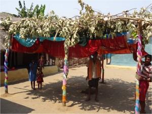 Inde Koraput Ganiput village cérémonie 1