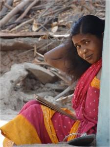 Inde Koraput Ganiput village femme 1