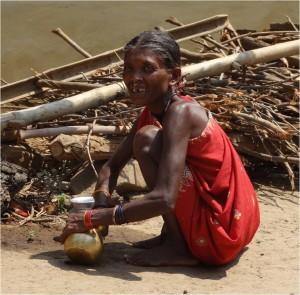Inde Koraput Ganiput village femme 3