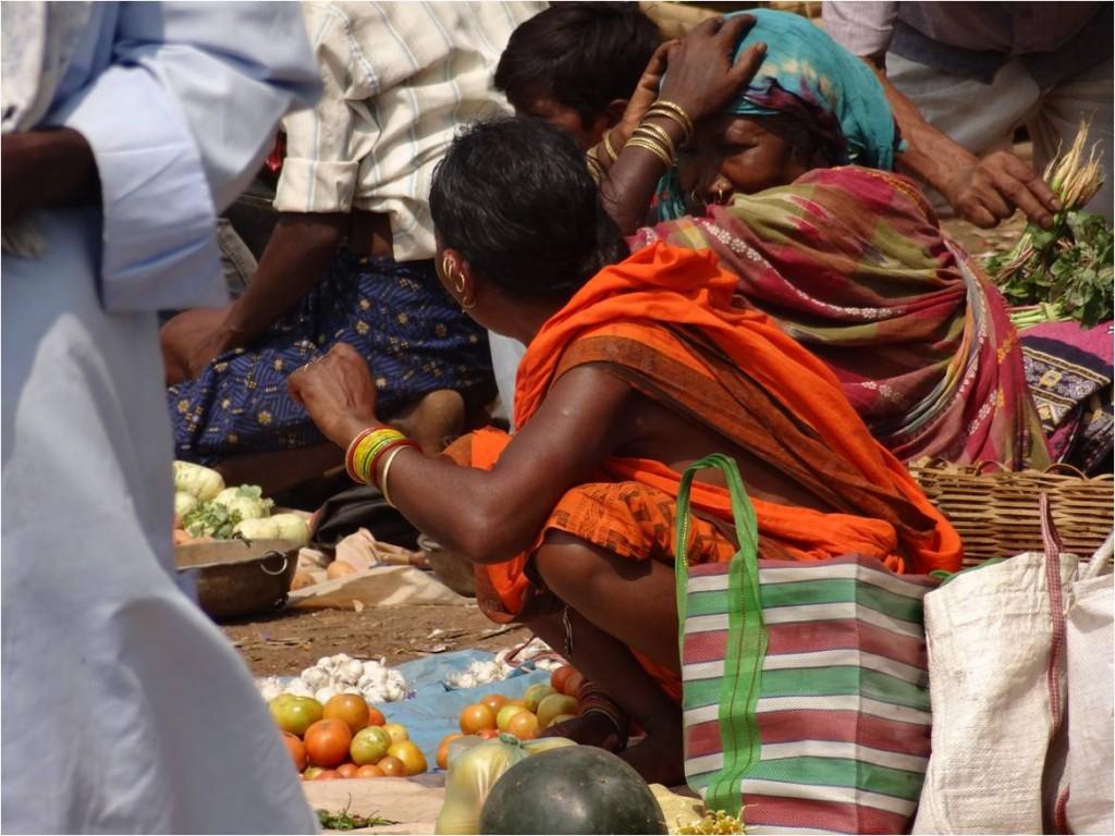 Inde Koraput Podagada market
