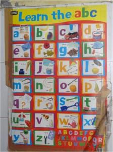 Inde baby home alphabet