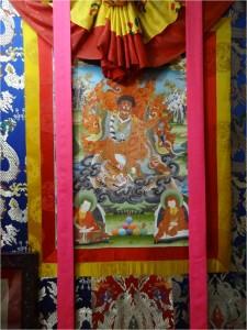 Népal Bakhtapur Thikha tapisserie