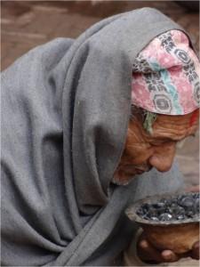 Népal Bakhtapur vieux