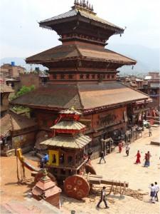 Népal Bakhtapur ville 1