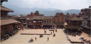 Népal Bakhtapur ville 2