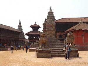 Népal Bakhtapur ville 3