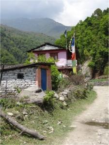 Népal Poon Hill maisons jour 1 1