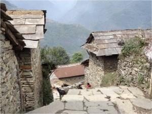 Népal Poon Hill maisons jour 2 1