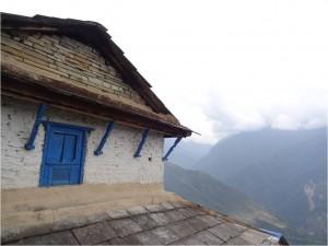 Népal Poon Hill maisons jour 2 2