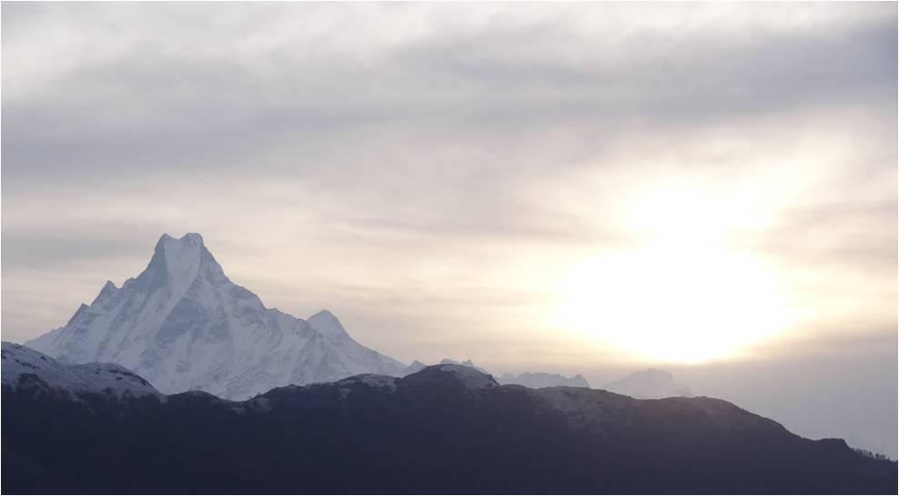 Népal Poon Hill montagnes 1