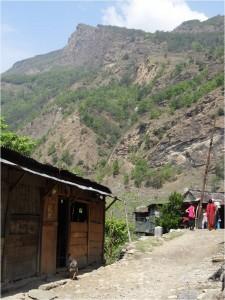 Népal Poon Hill paysage jour 1 1